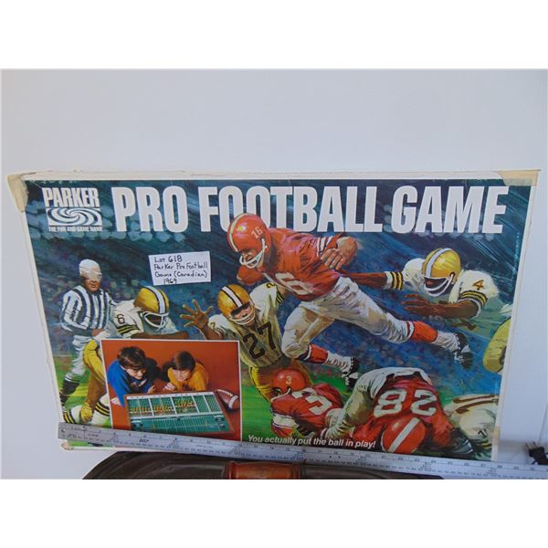 618 1969 PRO FOOTBALL CANADIAN GAME