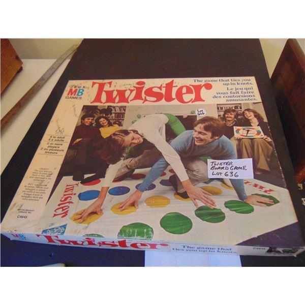 636 TWISTER BOARD GAME
