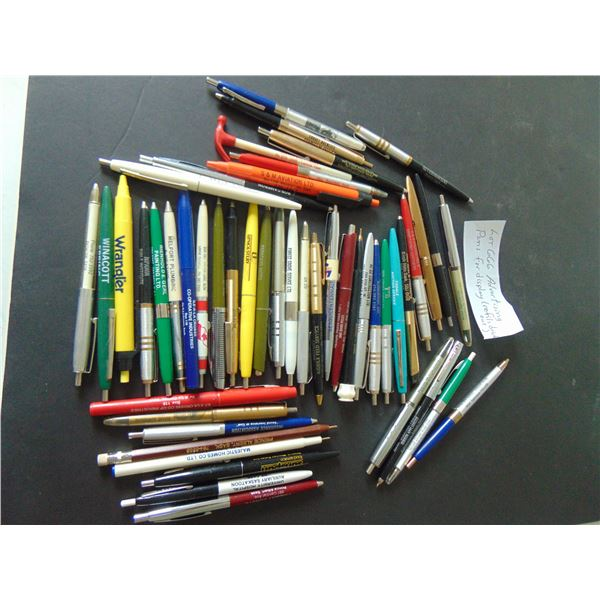 666   OF ADVERTISING PENS FOR DISPLAY