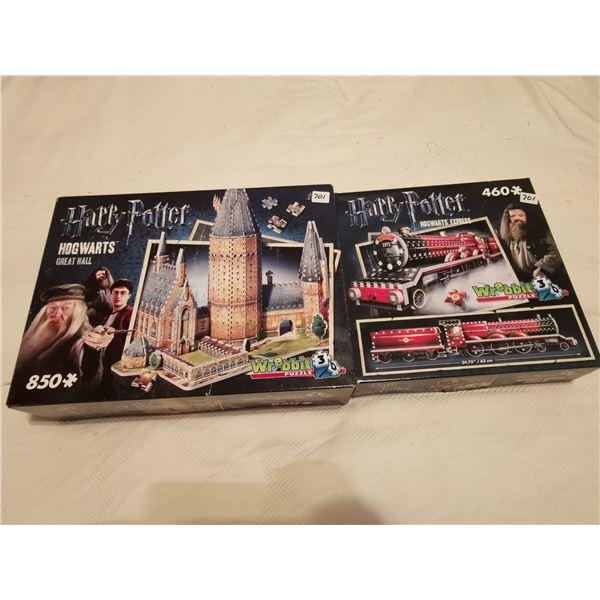 2 3D Harry Potter puzzles (1)460 (1)850