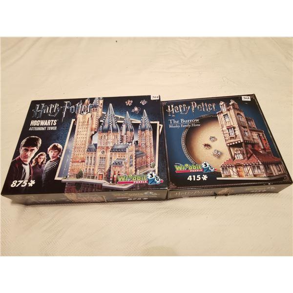 2 3D Harry Potter puzzles (1)415 (1)875