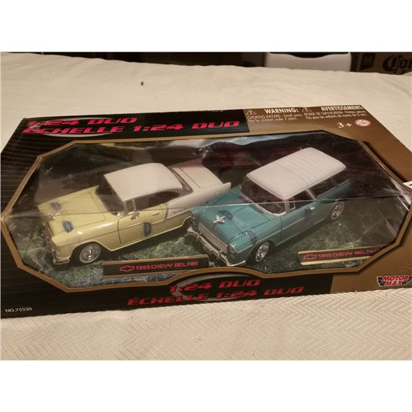 1955 Chevy Belair 1955 Chevy Belair Nomad 1:24 scale