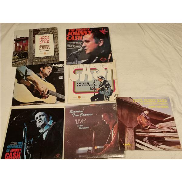 5 Johnny Cash & 2 Stompin Tom