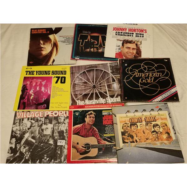 9 records