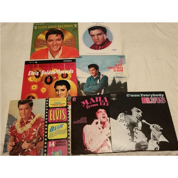 7 Elvis records