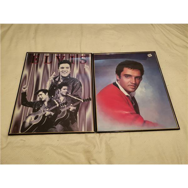 2 Elvis pictures 16 X 20