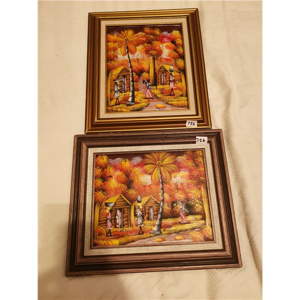 2 Pictures 11 X 13 & 13 X 11