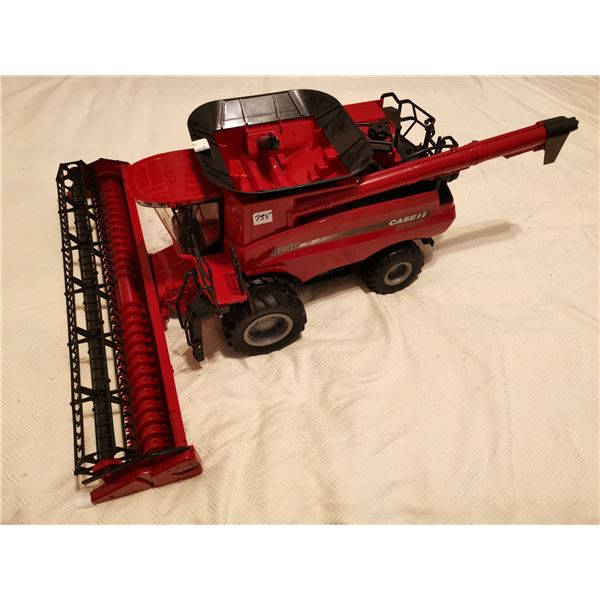 """1:16 scale cast combine 30"""" with header 24"""" wide"""