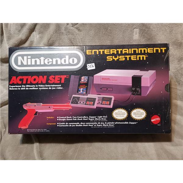 Nintendo game system, original box, works