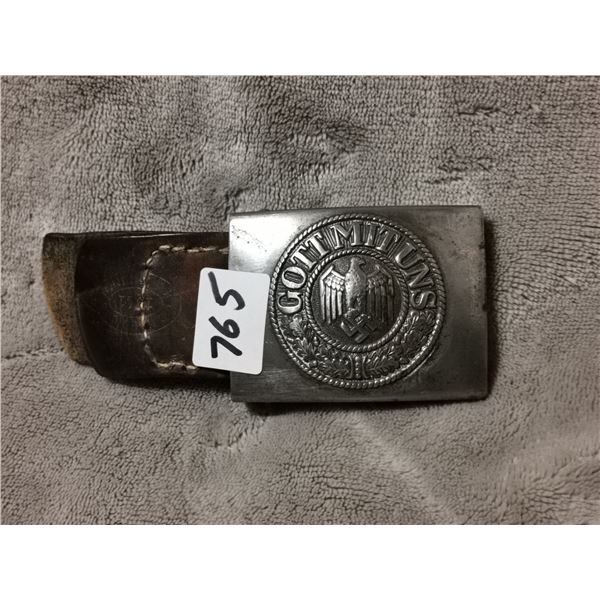 WWII Germany army belt buckle