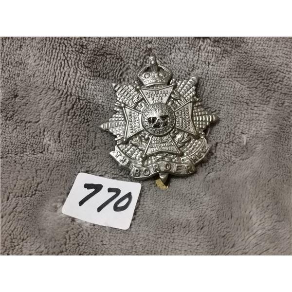 Borden regiment kings crown badge