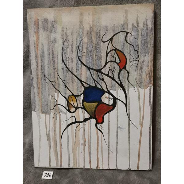 "Original painting 12"" X 16"""