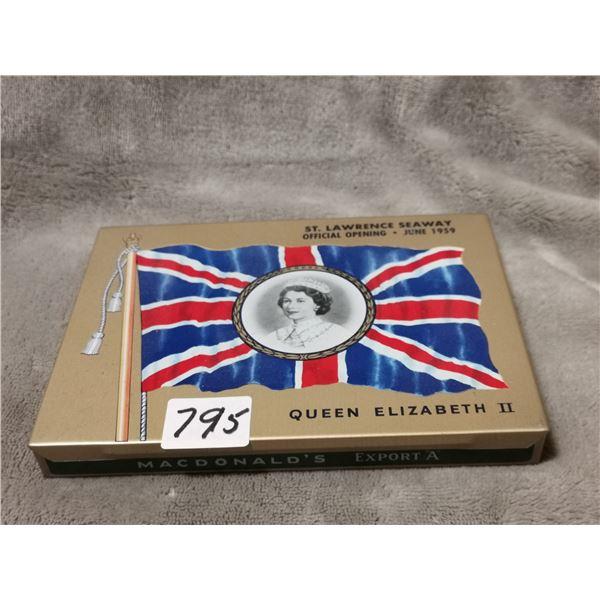 rare 1959 Export 'A' tobacco tin, great condition