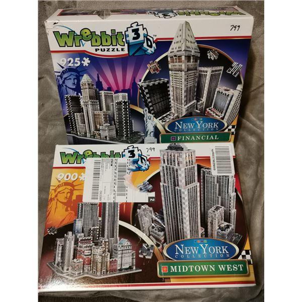 Two Wrebbit New York 3D puzzles