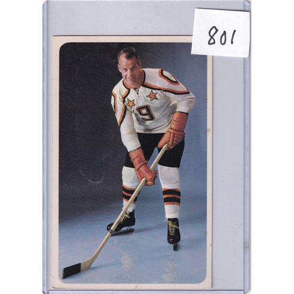 1960's Eatons Gordie Howe Card
