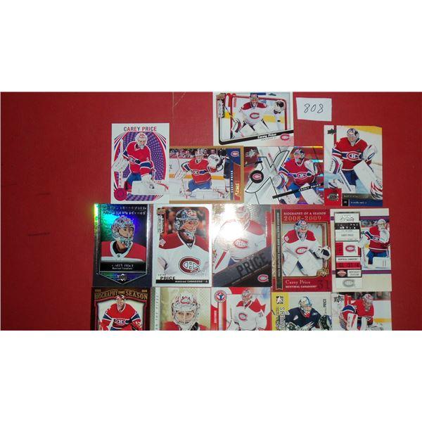 Lot of 20 Carey Price Cards