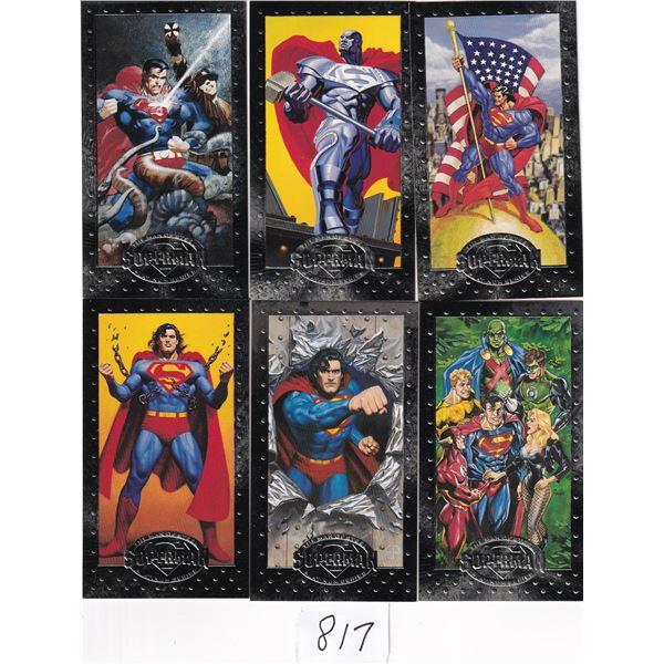 "1994 Skybox Superman ""Man Of Steel"" Tall Boy 90 card set"