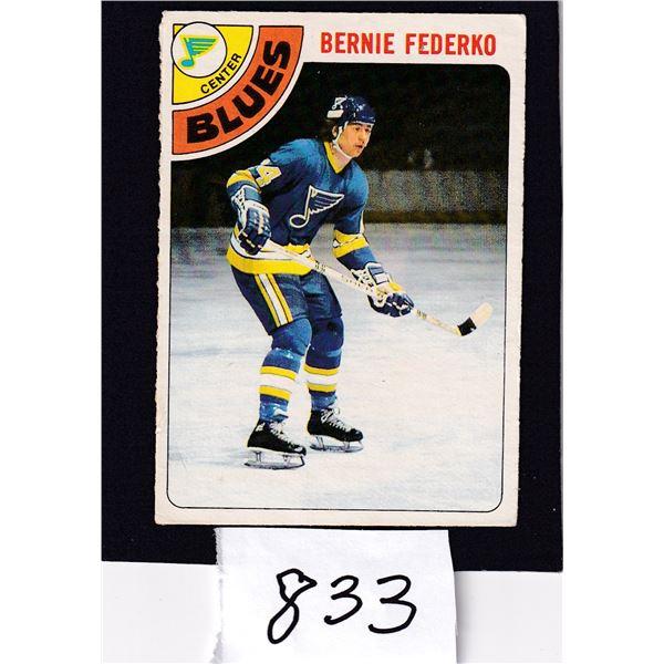 1978-79 OPC Bernie Federko (Foam Lake) Rookie Card