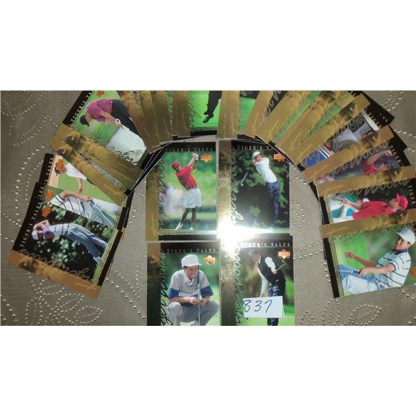 2001Upper Deck Tiger Woods 30 card set