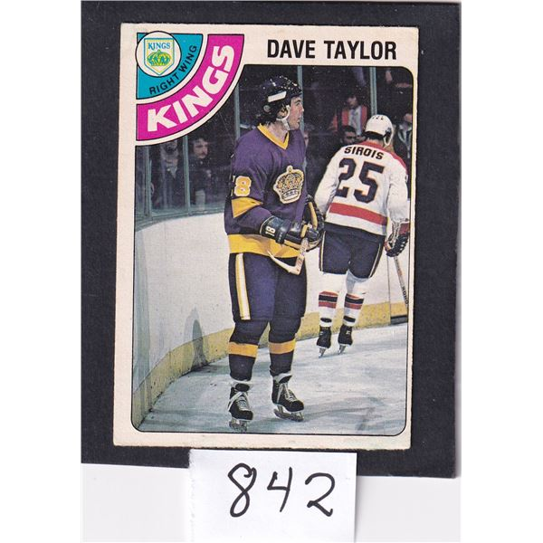 1978-79 OPC Dave Taylor Rookie Card