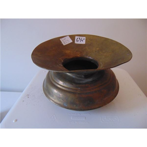853 VINTAGE PERSONAL COPPER SPITOON