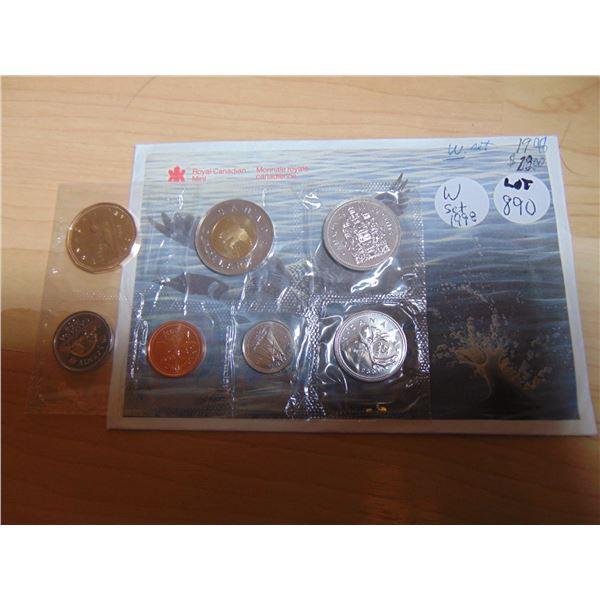 890 1998 WINNIPEG W PROOF LIKE COIN SET