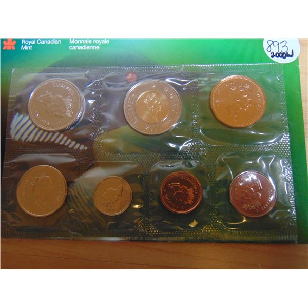 893 2000W PROOF LIKE COIN SET