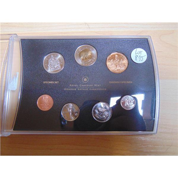 895 2005 SPECIMEN COIN SET