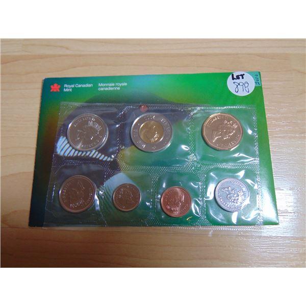 898 2000 W MARK PROOF LIKE COIN SET