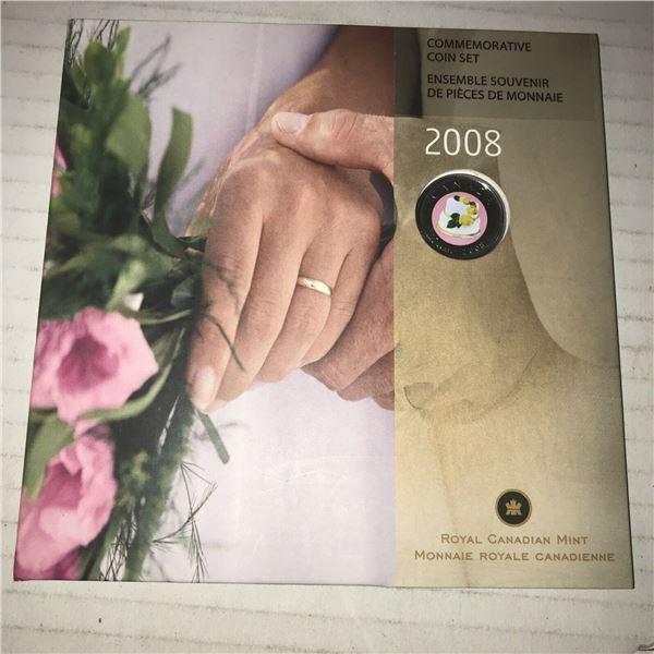 918 SCARCE 2008 WEDDING COIN SET