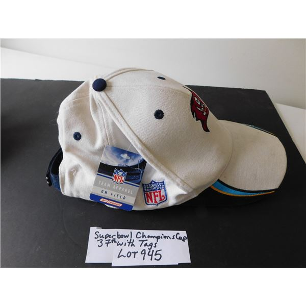 945 SUPERBOWL 37 CHAMPIONSHIP CAP USUSED HAT WITH TAGS