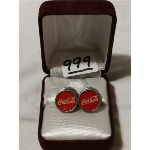 Rare Coca-Cola managers cufflinks
