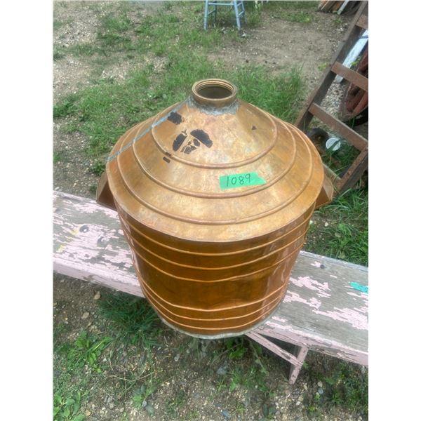 15 gallon copper still from the 'Yellow Creek Distillery' I heard
