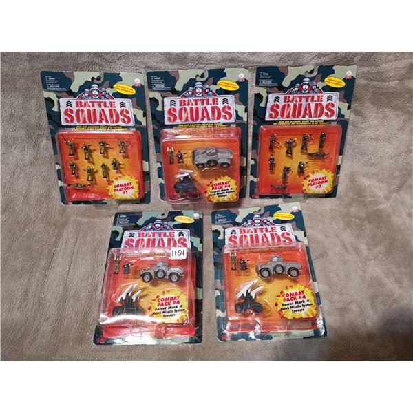 Battle squads, 5 boxes sealed