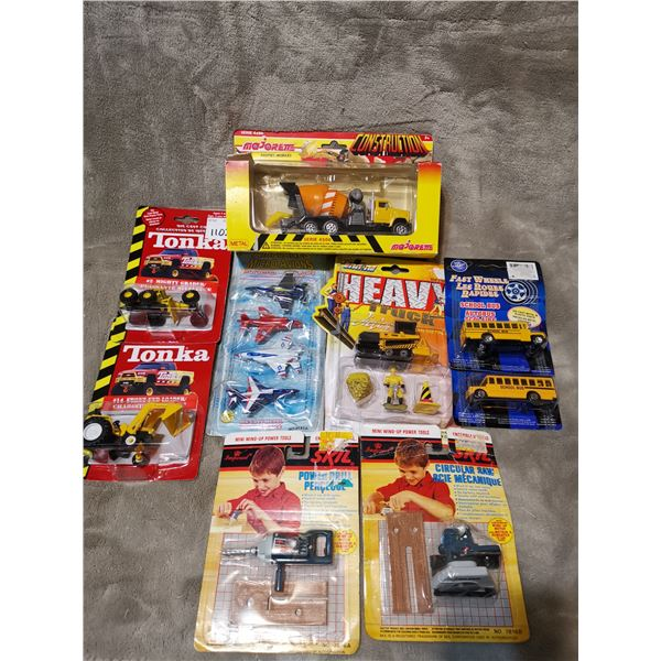 Mixed lots of toys, Tonka, Majorette, etc.