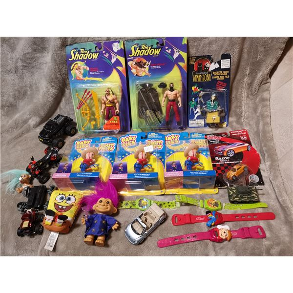 Large lot of toys