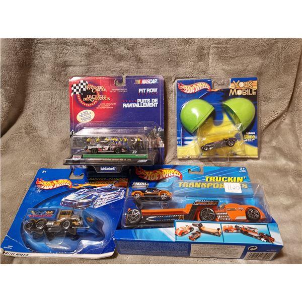 Hot Wheel & 1 Nascar lot of vehicles