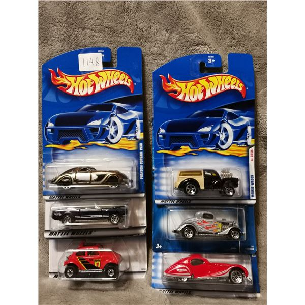 Lot of 6 Hot Wheels vehicles 20+ years old