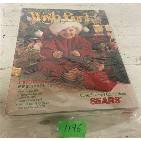 Sears wish book 1999 nos new never opened