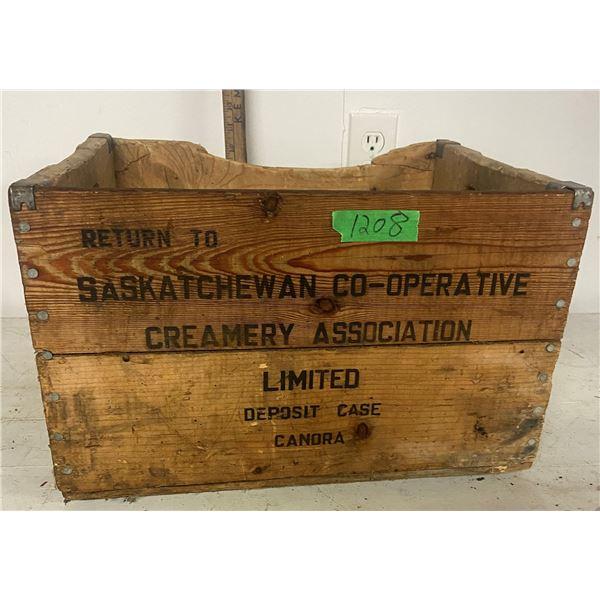Saskatchewan Co-op creamery box