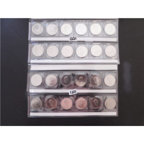 1999 & 2000 25 CENT COMMEMORATIVES IN HOLDERS