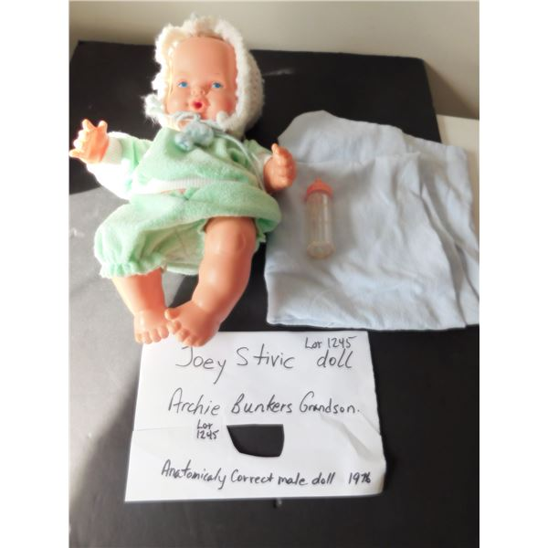BABY JOEY STIVIK ARCHIE BUNKERS GRANDSON DOLL 1970'S