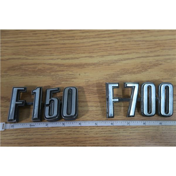 Ford F150 and F700 Emblems