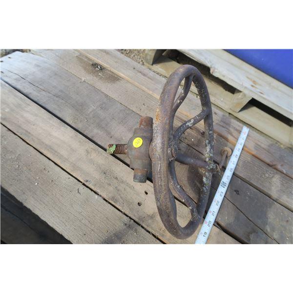 Decorative Cast Iron Valve Wheel