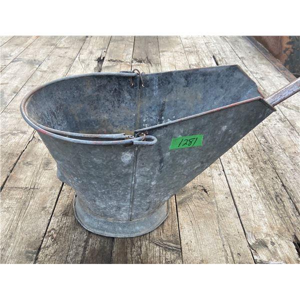 Coal pail and shovel