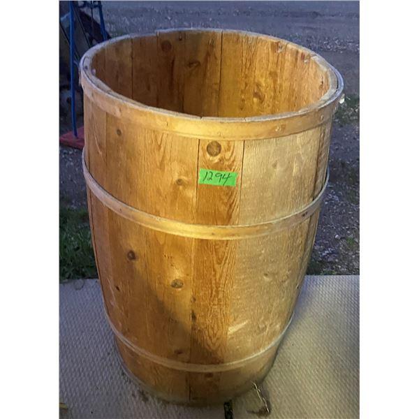 """wooden Barrel keg 30""""x 18"""""""