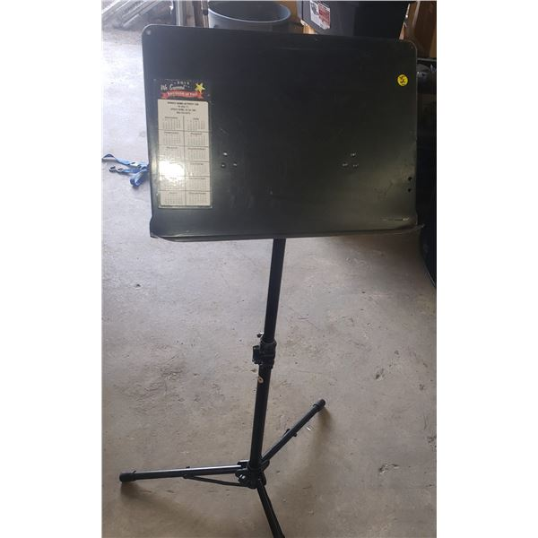 large tall music stand, commercial heavy duty  sound system parts