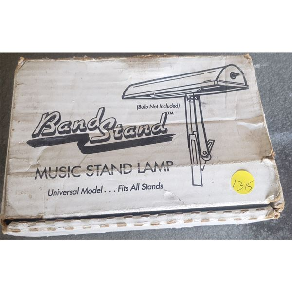 Band stand music stand lamp  commercial heavy duty  sound system parts