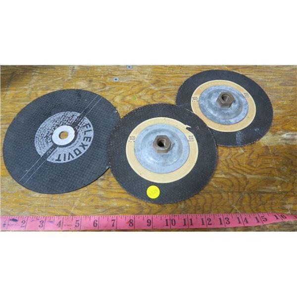 3 Grinding Disks