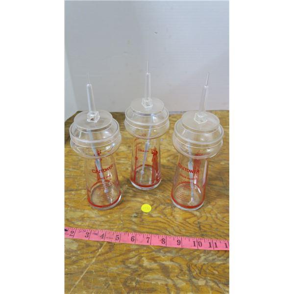 1987 CN Tower 3 Children's Drink Glasses